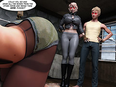 Swallowing it all - Echo 8 Stress test by crazy xxx 3D