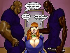 I hear you can't say no to dark meat - Scandalous Daphne part 3 by Pit parody
