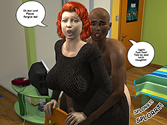His orgasm felt intense and almost never ending - The tutor featuring Sister O'Malley 3D by Duke's Hardcore Honeys