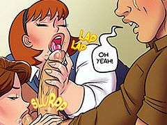 The first ever jab-con costume contest - Jab-con issue 2 by jabcomix (incest comics)