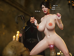 Your anus swallowed orc's penis at once - Fallen lady 3 by Jared999d