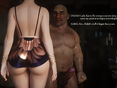No woman wants to sleep with me cause my penis is too big to sex with girl - Fallen lady 3 by Jared999d