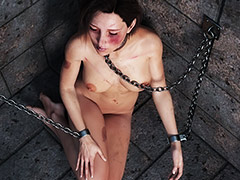 Girl is starting to enjoy BDSM pleasures - BDSM 3d by Rotrex