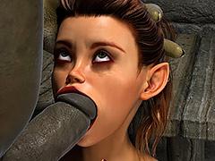 Green ugly dick - Thief Ezri, Sleazy Bonus Reward by Hibbli3d (Hibbli, Adara)