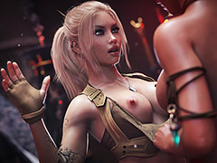 4 bare breasts are better than 2 - Iris and the Ankh of Osiris by forged3DX