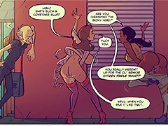 She's such a coveting slut - Keeping it up with the Joneses 6 by jab comix
