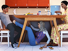 Big dick in my friend's mom - Sex for breakfast by Losekontrol (Hijab 3DX)
