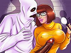 You are being a bad boy - Interracial cartoon porn: Scooby doo, Velma, Daphne, Fred by Michi